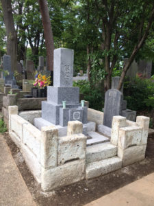 墓所クリーニング